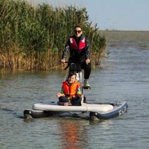 biciclete nautice Delta Dunării